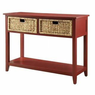 ACME Flavius Console Table - 90268 - Burgundy