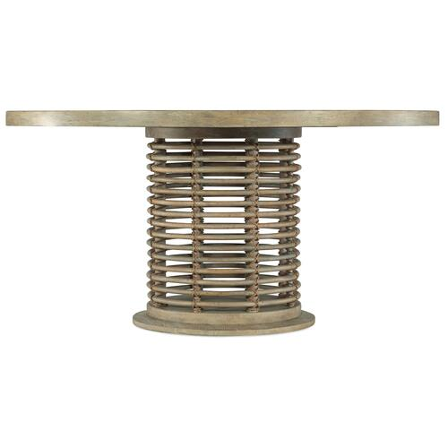 Hooker Furniture - Surfrider 60in Rattan Round Dining Table