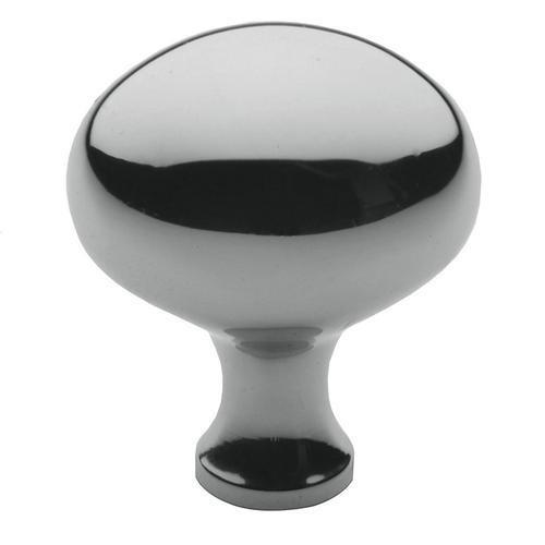 Baldwin - Polished Chrome Oval Knob