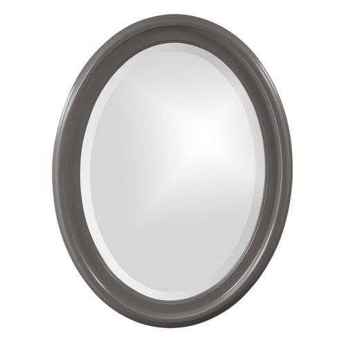 Howard Elliott - George Mirror - Glossy Charcoal