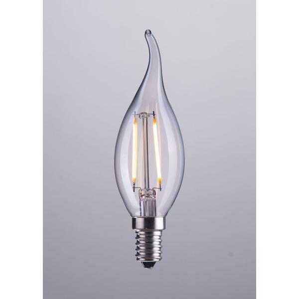 See Details - E12 Type Ba 2w Led 35 X 117 Mm Clear