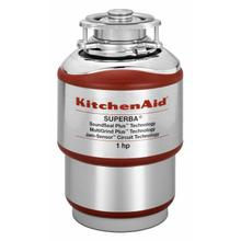 See Details - 1-Horsepower Continuous Feed Food Waste Disposer - Red