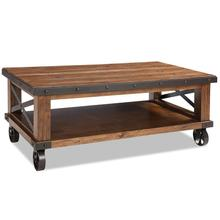 View Product - Taos Coffee Table with Casters