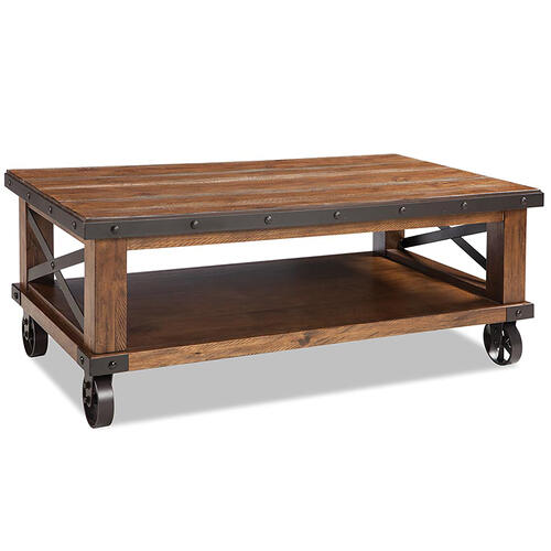 Taos Coffee Table with Casters