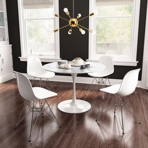 Zip Dining Chair White