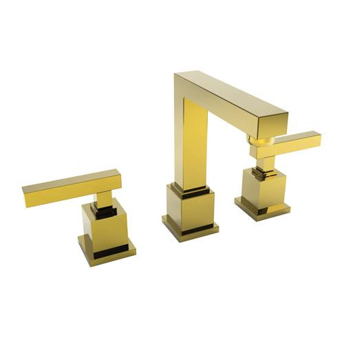 Newport Brass - Uncoated Polished Brass - Living Widespread Lavatory Faucet