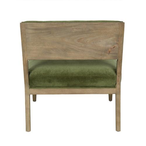 Classic Home - Zane Accent Chair Green