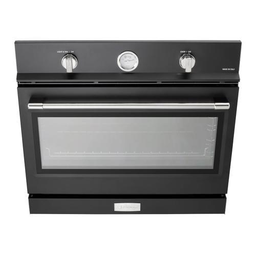 """Verona 30"""" Gas Built-In Oven Matte Black"""
