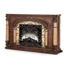 See Details - Fireplace W/insert Light Espresso