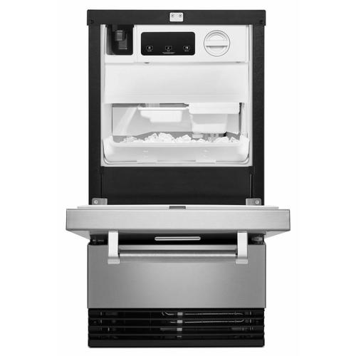 KitchenAid Canada - 18'' Automatic Ice Maker with PrintShield™ Finish - Stainless Steel with PrintShield™ Finish