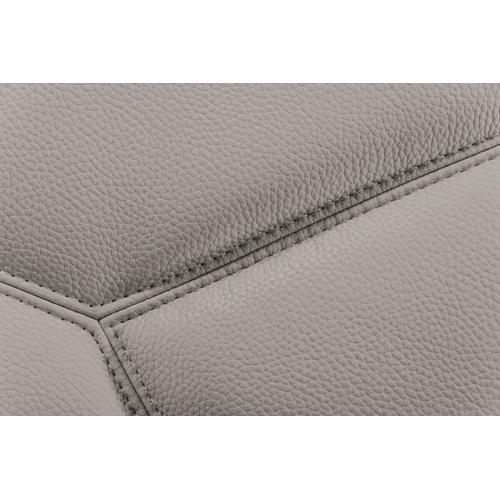 VIG Furniture - Divani Casa Quebec - Modern Medium Grey Eco-Leather Right Facing Sectional Sofa