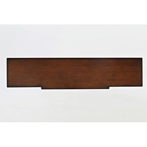 "Stately Home 60"" Console- Antique Mahogany"