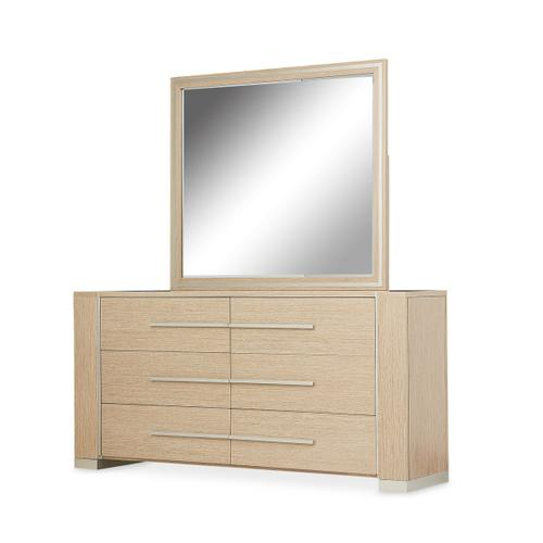 Storage Console- Dresser W/mirror 2 PC