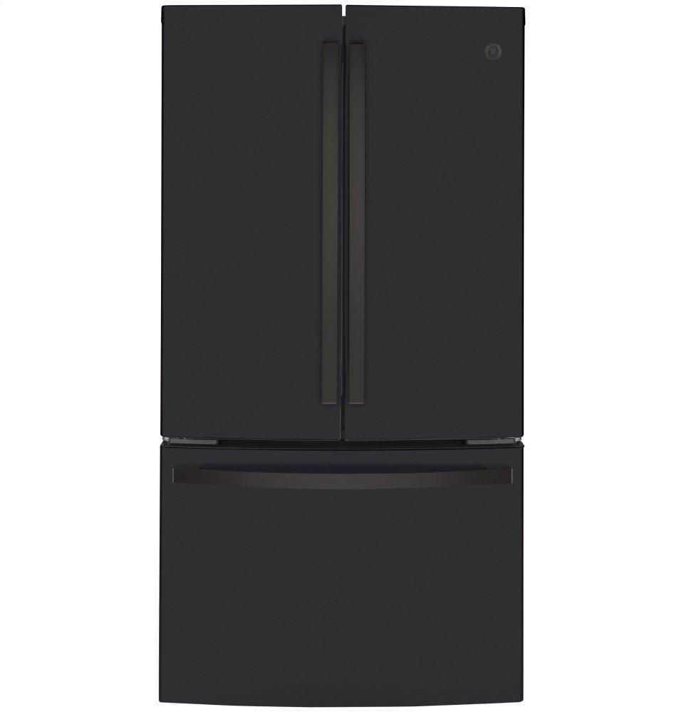 GEEnergy Star® 23.1 Cu. Ft. Counter-Depth French-Door Refrigerator