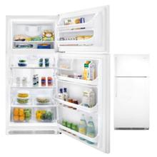 21 Cubic Ft Top Mount Refrigerator (This is a Stock Photo, actual unit (s) appearance may contain cosmetic blemishes. Please call store if you would like actual pictures). This unit carries our 6 month warranty, MANUFACTURER WARRANTY and REBATE NOT VALID with this item. ISI 36577