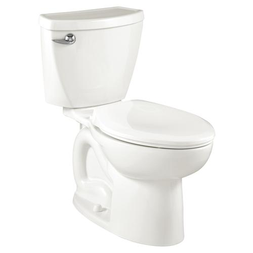Cadet 3 Elongated Toilet  1.28 GPF  10-in Rough-in  American Standard - White