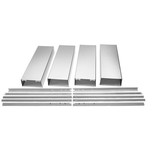 Gallery - Island Hood Chimney Extension Kit - Stainless Steel
