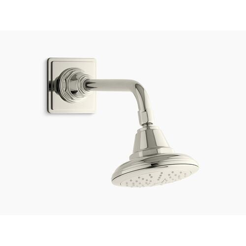 Vibrant Polished Nickel 1.75 Gpm Single-function Showerhead With Katalyst Air-induction Technology