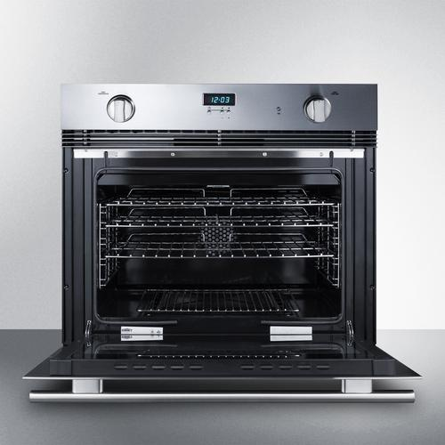 "30"" Wide Gas Wall Oven"