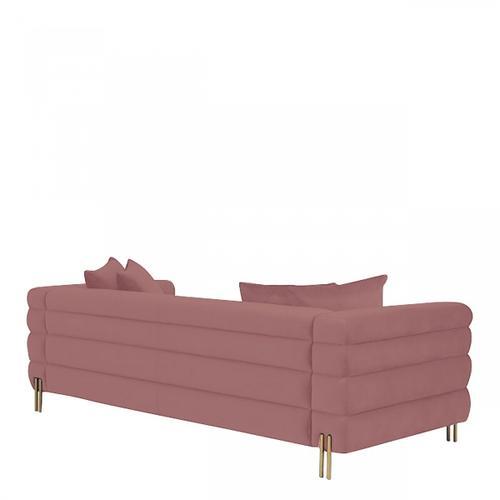 VIG Furniture - Divani Casa Branson - Pink Velvet Sofa