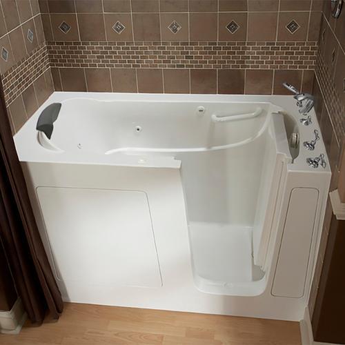 American Standard - Premium Series 30x60-inch Walk-In Tub with Whirlpool Massage System  American Standard - White