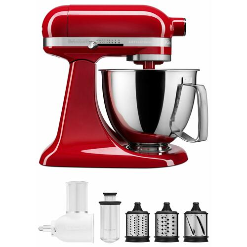 Gallery - Exclusive Artisan® Series Stand Mixer & Fresh Prep Attachment Set - Empire Red