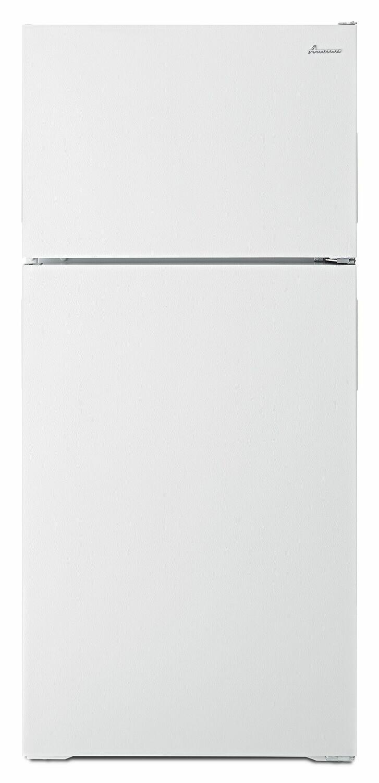 Amana28-Inch Top-Freezer Refrigerator With Dairy Bin - White