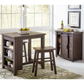 Madison County 3pc Counter Set