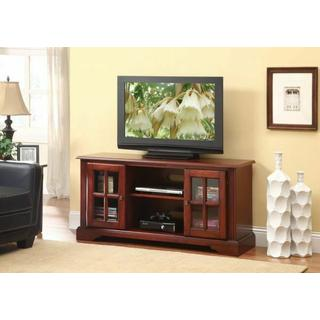 ACME Basma TV Stand - 91048 - Cherry for Flat Screens TVs up to 50""
