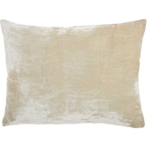 "Life Styles Hr020 Aqua 14"" X 20"" Throw Pillow"