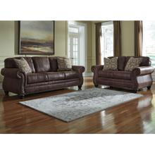 See Details - Benchcraft Breville Living Room Set in Espresso Faux Leather