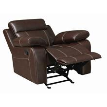 Myleene Chestnut Leather Recliner