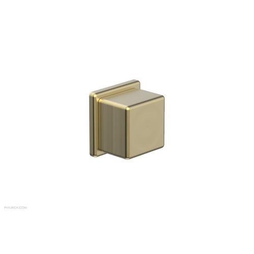 MIX Volume Control/Diverter Trim - Cube Handle 290-38 - Burnished Gold