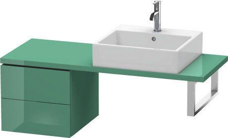 Low Cabinet For Console Compact, Jade High Gloss (lacquer)