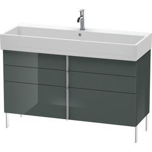 Vanity Unit Floorstanding, Dolomiti Gray High Gloss (lacquer)