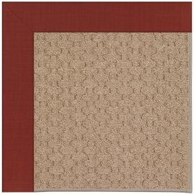 Creative Concepts-Grassy Mtn. Dupione Henna Machine Tufted Rugs