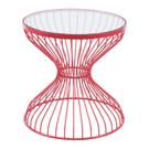 Rose Side Table Red Product Image