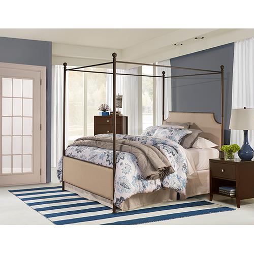 Hillsdale Furniture - Mcarthur Metal Canopy Kit - Bronze - King