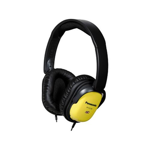 Noise Cancelling Over-the-Ear Headphones with Travel Pouch RP-HC200-Y - Yellow/Black