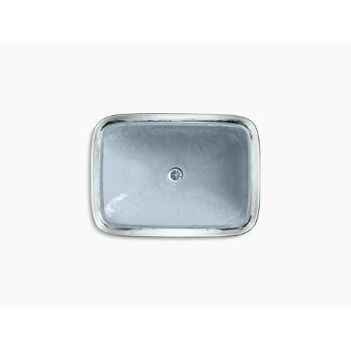 Opaque Dusk Glass Vessel Bathroom Sink In Opaque Dusk