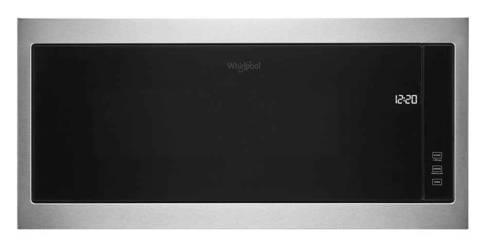 """Whirlpool1.1 Cu. Ft. Built-In Microwave With Slim Trim Kit - 14"""" Height"""