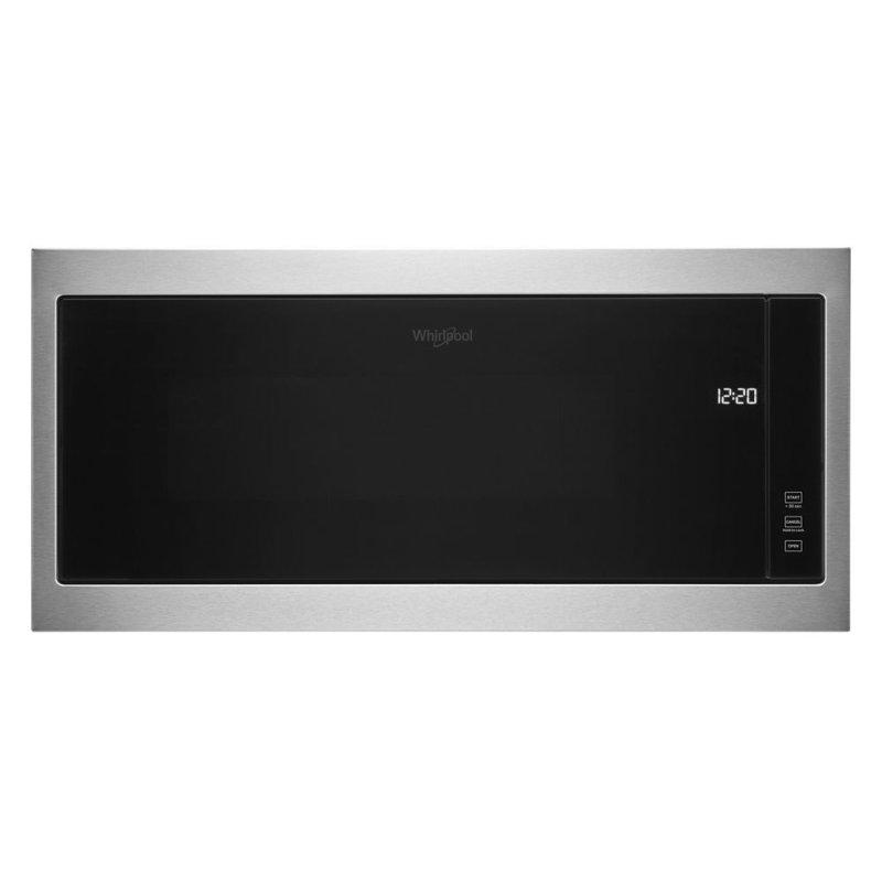"""1.1 cu. ft. Built-In Microwave with Slim Trim Kit - 14"""" Height"""
