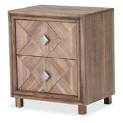 Accent Cabinet-night Stand-end Table 2 Drawer