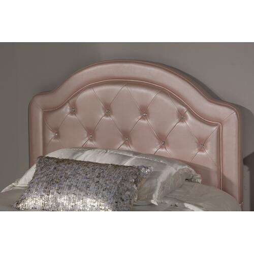 Gallery - Karley Twin-size Headboard, Pink Faux Leather