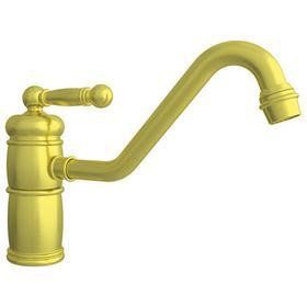 Satin Brass - PVD Single Handle Kitchen Faucet