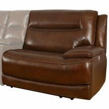 See Details - COLOSSUS - NAPOLI BROWN Power Right Arm Facing Recliner