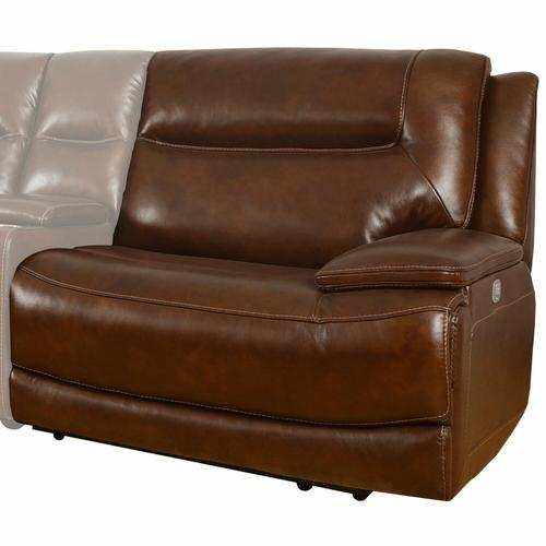 Parker House - COLOSSUS - NAPOLI BROWN Power Right Arm Facing Recliner