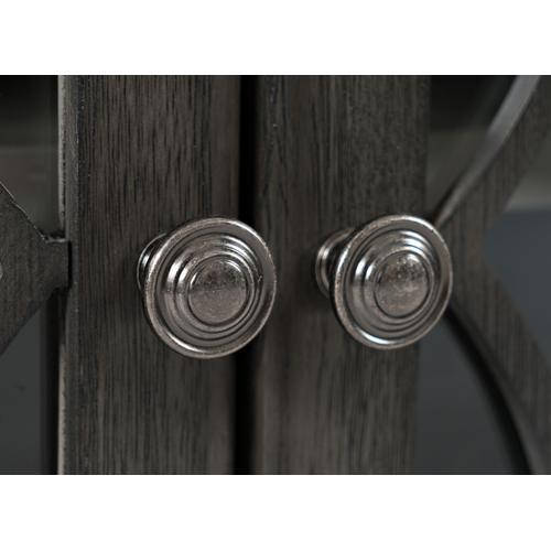 Jofran - Aurora Hills 6 Door Accent Chest-b. Grey/bisque