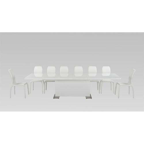 "VIG Furniture - Modrest Bono ""T"" - Modern White Dining Table"