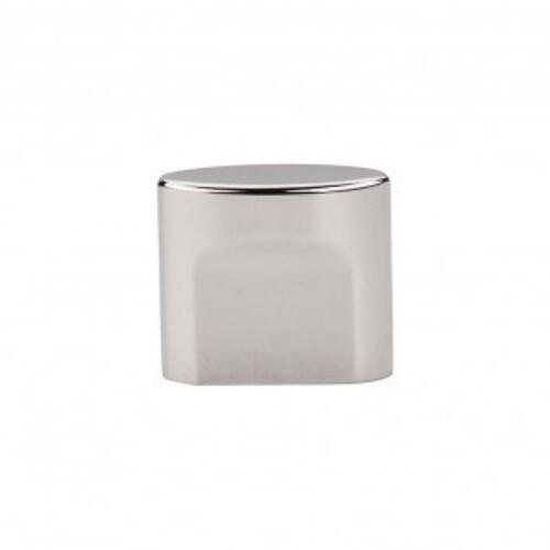 Oval Slot Knob 3/4 Inch (c-c) - Polished Nickel